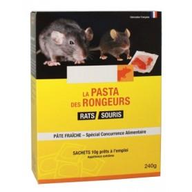 PÂTE RATS / SOURIS AU DIFENACOUM. ETUI 240G