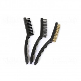 kit-3-brosses-18cm-metal-laiton-synthetique